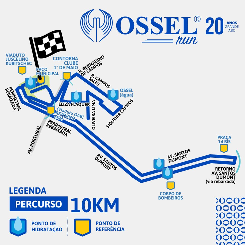 percurso 10k
